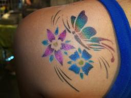 100's of Airbrush Tattoo Design Ideas Pictures Gallery
