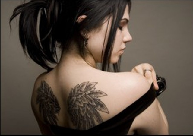 100's of Angel Wings Tattoo Design Ideas Pictures Gallery