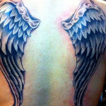 Angel Wings Tattoo Design5 150x150 - 100's of Angel Wings Tattoo Design Ideas Pictures Gallery