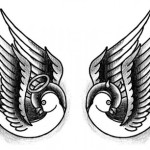 Angel and Devil Tattoo2 150x150 - 100's of Angel and Devil Tattoo Design Ideas Pictures Gallery