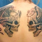 Angel and Devil Tattoo4 150x150 - 100's of Angel and Devil Tattoo Design Ideas Pictures Gallery