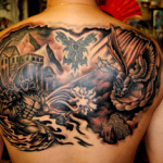Angel and Devil Tattoo8 150x150 - 100's of Angel and Devil Tattoo Design Ideas Pictures Gallery