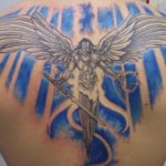 Archangel Tattoo Design1 150x150 - 100's of Archangel Tattoo Design Ideas Pictures Gallery