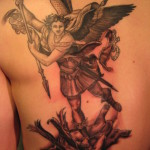 Archangel Tattoo Design10 150x150 - 100's of Archangel Tattoo Design Ideas Pictures Gallery