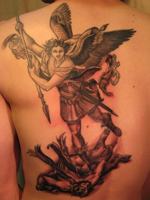 100's of Archangel Tattoo Design Ideas Pictures Gallery