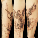 Archangel Tattoo Design12 150x150 - 100's of Archangel Tattoo Design Ideas Pictures Gallery