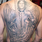 Archangel Tattoo Design Ideas Pictures Gallery