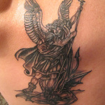 Archangel Tattoo Design7 150x150 - 100's of Archangel Tattoo Design Ideas Pictures Gallery
