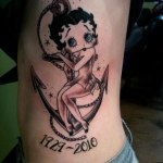 Betty Boop 3 150x150 - 100's of Betty Boop Tattoo Design Ideas Pictures Gallery