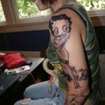 Betty Boop 7 150x150 - 100's of Betty Boop Tattoo Design Ideas Pictures Gallery