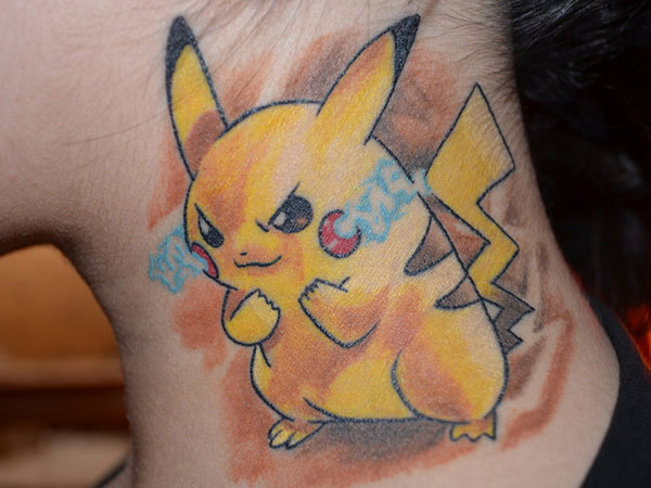 100 39 s of cartoon character tattoo design ideas pictures for Small cartoon tattoo designs
