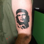 Che Guevara 2 150x150 - 100's of Che Guevara Tattoo Design Ideas Pictures Gallery