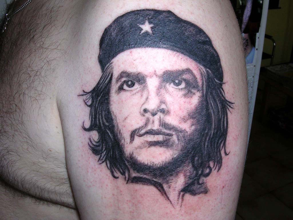 100's of Che Guevara Tattoo Design Ideas Pictures Gallery