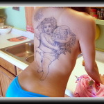 Cherub 11 150x150 - 100's of Cherub Tattoo Design Ideas Pictures Gallery