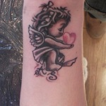 Cherub 5 150x150 - 100's of Cherub Tattoo Design Ideas Pictures Gallery