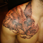 Cherub 6 150x150 - 100's of Cherub Tattoo Design Ideas Pictures Gallery