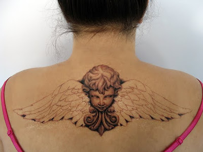 100's of Cherub Tattoo Design Ideas Pictures Gallery