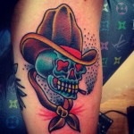 Cowboy 7 150x150 - 100's of Cowboy Tattoo Design Ideas Pictures Gallery