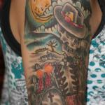 Cowboy 8 150x150 - 100's of Cowboy Tattoo Design Ideas Pictures Gallery