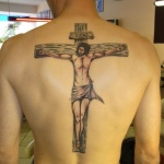 Crucifix 7 150x150 - 100's of Crucifix Tattoo Design Ideas Pictures Gallery