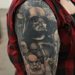 Darth Vader Tattoo Design Ideas Pictures Gallery