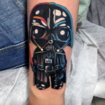 Darth Vader 2 150x150 - 100's of Darth Vader Tattoo Design Ideas Pictures Gallery