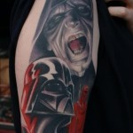 Darth Vader 5 150x150 - 100's of Darth Vader Tattoo Design Ideas Pictures Gallery