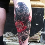 Darth Vader 8 150x150 - 100's of Darth Vader Tattoo Design Ideas Pictures Gallery