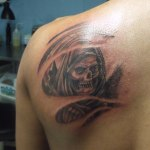 Death 11 150x150 - 100's of Death Tattoo Design Ideas Pictures Gallery