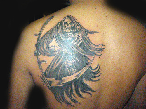 Death Tattoo Design Ideas Pictures Gallery