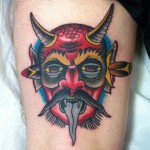 Demon Tattoo Design Ideas Pictures Gallery