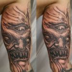 Demon 10 150x150 - 100's of Demon Tattoo Design Ideas Pictures Gallery