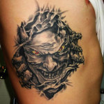 Demon 2 150x150 - 100's of Demon Tattoo Design Ideas Pictures Gallery
