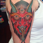 Demon 8 150x150 - 100's of Demon Tattoo Design Ideas Pictures Gallery