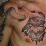 Demon 9 150x150 - 100's of Demon Tattoo Design Ideas Pictures Gallery