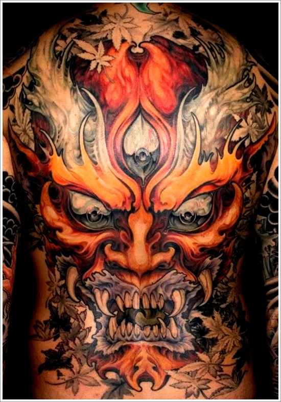 100's of Demon Tattoo Design Ideas Pictures Gallery