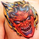 Devil Tattoo Design Ideas Pictures Gallery