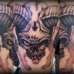 Devil 12 150x150 - 100's of Devil Tattoo Design Ideas Pictures Gallery