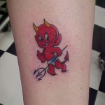 Devil 4 150x150 - 100's of Devil Tattoo Design Ideas Pictures Gallery