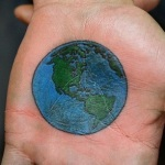 Earth Tattoo Design10 150x150 - 100's of Earth Tattoo Design Ideas Pictures Gallery