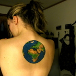 Earth Tattoo Design5 150x150 - 100's of Earth Tattoo Design Ideas Pictures Gallery