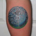 Earth Tattoo Design9 150x150 - 100's of Earth Tattoo Design Ideas Pictures Gallery