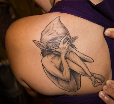 100's of Elf Tattoo Design Ideas Pictures Gallery