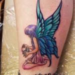 Fairy 12 150x150 - 100's of Fairy Tattoo Design Ideas Pictures Gallery