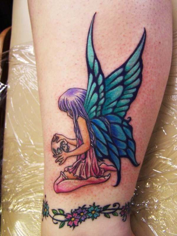 100s of Fairy Tattoo Design Ideas Pictures Gallery