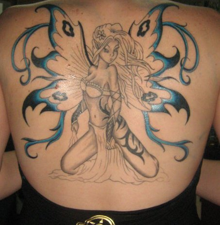 100's of Fairy Tattoo Design Ideas Pictures Gallery