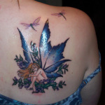 Fairy 4 150x150 - 100's of Fairy Tattoo Design Ideas Pictures Gallery