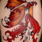 Fairy 6 150x150 - 100's of Fairy Tattoo Design Ideas Pictures Gallery