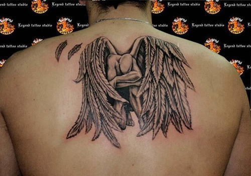 Fallen Angel Tattoo Design Ideas Pictures Gallery