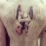 Fallen Angel Tattoo design1 150x150 - 100's of Fallen Angel Tattoo Design Ideas Pictures Gallery